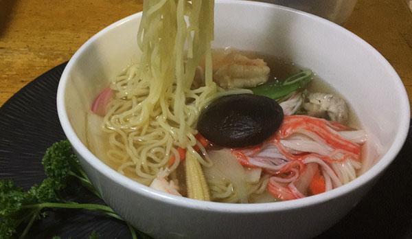 recipe: seafood soba soup [10]